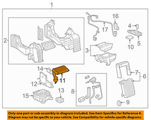Gm Oem auxiliary Heater Core 89023339