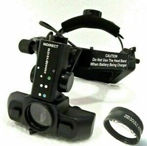 Top Funduscopy Cordless Binocular Indirect Ophthalmoscope With Accessories