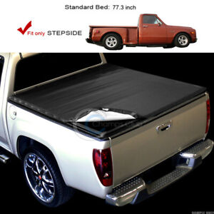 Fits 88 00 Chevy gmc C k Ck C10 Truck Stepside 6 5 Ft Bed Snap on Tonneau Cover