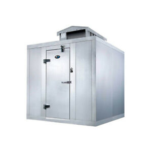 Amerikooler Qc060872 nbsc o 6 X 8 Outdoor Quick Ship Walk in Cooler Without F