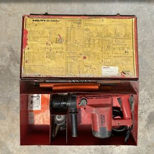 Hilti Te 52 Rotary Hammer Drill Tested Works Great