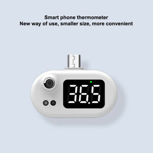 Usb Mini Phone Thermometer For Android Infrared Forehead Measurement 43 14 35mm