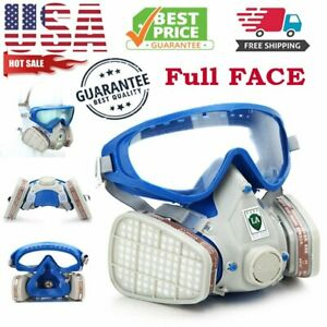 Full Face Gas Mask Painting Spraying Respirator Full Face Facepiece Spray Paint