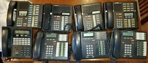 Lot Of 8 Nortel Meridian Bell South Norstar Business Telephone Phone Samsung
