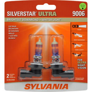 Sylvania Silverstar Ultra 9006 Dual Pack Halogen Bulbs Brand New sealed