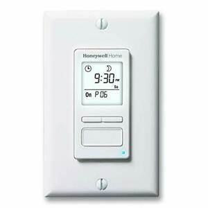 Honeywell Home Rpls740b1008 Econoswitch 7 day Programmable Light Switch Timer