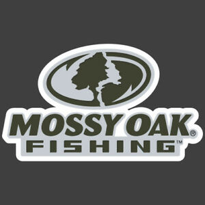 Mossy Oak Fishing Green Grey Carpet Graphic Decal Sticker For Fishing Bass Boats