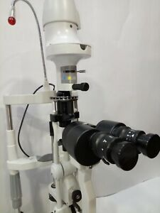2 Step Slit Lamp Haag Streit Type With Accessories Ophthalmology Free Shipping