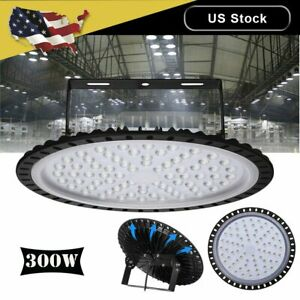 300w Ufo Led High Bay Light Warehouse Factory Industrial Light Fixture 24000lm