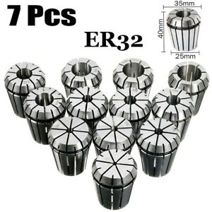 Er16 er20 er25 er32 Spring Collet Set For Cnc Milling Lathe Engraving Machine