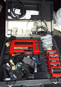 Snap On Scanner Mt2500 Cartridges Adapters Personality Keys Cables Obd Ii B
