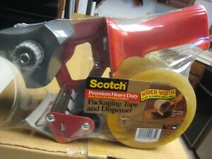 3m Scotch Shipping Tape Gun Dispenser Heavy Duty 3 Bp 15 With One Roll Of Tape
