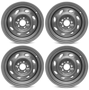 New 15 Set Of 4 Steel Wheel Rim 93 09 Ford Ranger Explorer Mercury Mountaineer