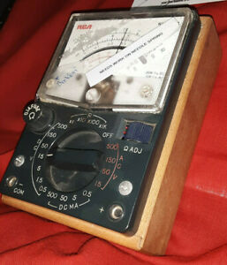 312g Wv 518a Rca Multimeter Preowned Needs Work