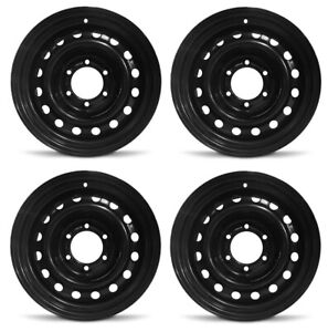New Set Of 4 16 X 7 Replacement Steel Wheel Rim For 2005 2019 Toyota Tacoma