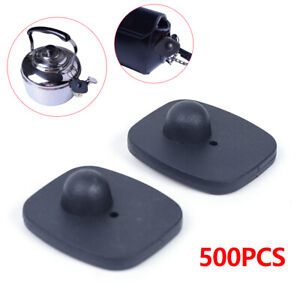 500x Security Hard Tags Tool Checkpoint Eas System Anti theft Sensor Tags Pins