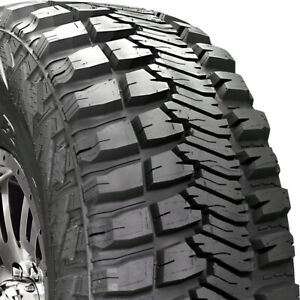 2 Goodyear Wrangler Mt r With Kevlar Lt 255 75r17 Load C 6 Ply M t Mud Tires