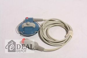Philips Hp M1356a Fetal Ultrasound Us Transducers With Belt Wire knob