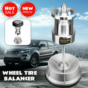 Industrial Portable Hubs Wheel Balancer With Bubble Level Rim Tire Cars Truck