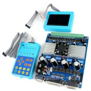 4 Axis Intelligent Tb6560 Stepper Motor Driver Lcd Display Handle Controller