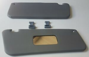 Sun Visor For Mercedes Benz R107 With Clips Grey