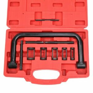 Black Heavy Duty 5 sizes Car Motorcycle Valve Spring Compressor Pusher Tool Kit