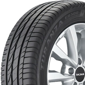 2 Bridgestone Turanza Er300a Rft 205 55r16 91w oe Performance Run Flat Tires