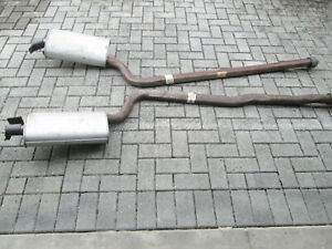 64 65 66 67 Gm Nos Off Road Corvette Exhaust Mufflers Pipes 2 1 2 N11