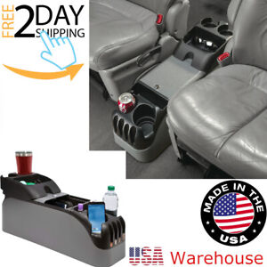 Center Console Suv Armrest Cup Holder Portable Truck Van Organizer Car Minivan