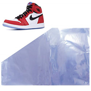 Shoe Shrink Wrap Bags 100 Pcs 50 Pairs Of Sneaker Shrink Wraps Fits Up To Men