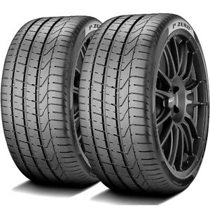 2 Tires Pirelli P Zero 255 35r20 97y Xl High Performance