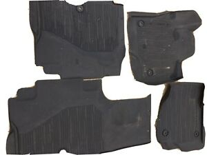 4 Ford Expedition 2020 Tray Style All Weather Molded Floor Mats