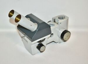 Parts repair Carl Zeiss 47 50 52 9901 Stereo Zoom Microscope Head No Eyepiece