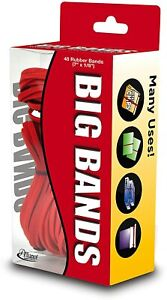 Alliance Rubber 00699 Big Bands For Oversized Jobs 48 Pack Of Large Elastic 7