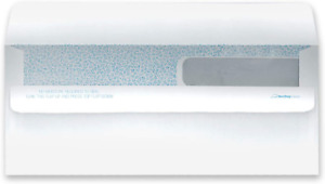 Ready seal Double Window Security Tinted Check Envelopes Compatible For Quickbo