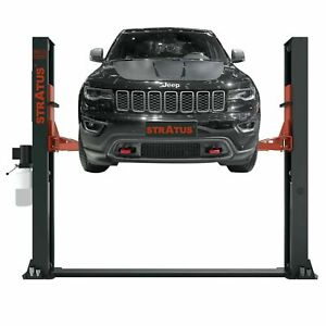 Stratus Extra Wide 2 Post Floor Plate 10000 Lbs Capacity Car Lift Sae F10