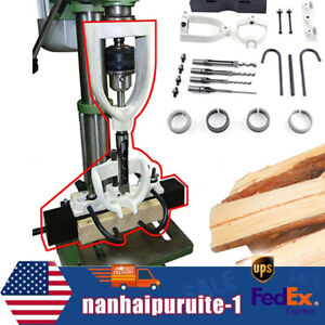 Tenoning Chisel Mortising Mortise Locator Kit Attachment For Drilling Machine