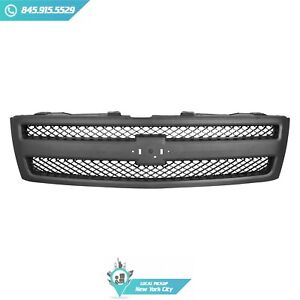 Local Pickup Grille Plastic Front Fits Chevrolet Silverado 1500 07 13 Gm1200578