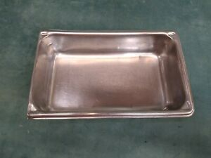Steam Table Bowl Stainless Steel Salad Bar Super Pan Nsf Preowned
