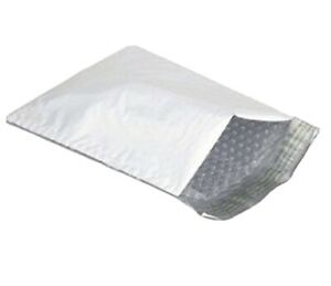 50 Ea 4x7 Brand Poly Bubble Mailers Small Padded Envelope 4 X 7 Fb1750