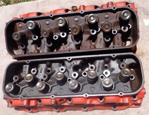Big Block Chevy Large Oval Port Heads 3993820 71 Castings 396 427 454 Oem Gm Wow