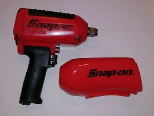 Snap On mg1250 3 4 Drive Impact Wrench With New Boot