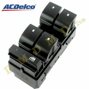 Acdelco Driver Left Side Master Power Window Switch For Chevrolet Silverado Gmc