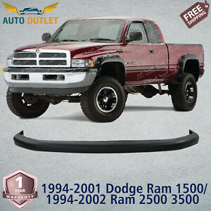 Front Bumper Cover Pad Textured For 1994 2001 Dodge Ram 1500 1994 2002 2500 3500