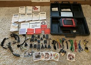 Snap On Modis Eems300 Scanner V11 4 Tons Of Accessories Case Diagnostics