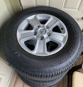 Toyota Tundra Parts Wheels Tires Rims Stock Oem Package Steel 18