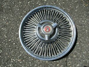 One Factory 1965 To 1967 Ford Falcon 14 Inch Spinner Hubcap Wheel Cover