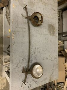1928 29 Ford Model A Headlight Bar And Buckets