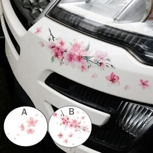 Cherry Blossom Floral Car Stickers Love Pink Auto Vinyl Deca Bumperl Window For