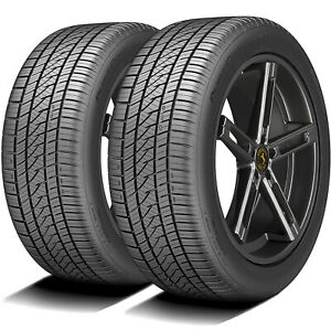 2 Tires Continental Purecontact Ls 245 45r17 99v Xl A S All Season